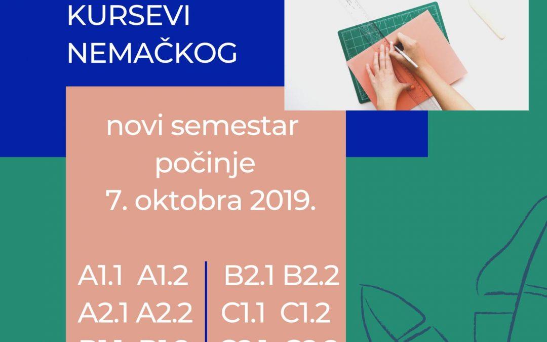 Počinje novi semestar